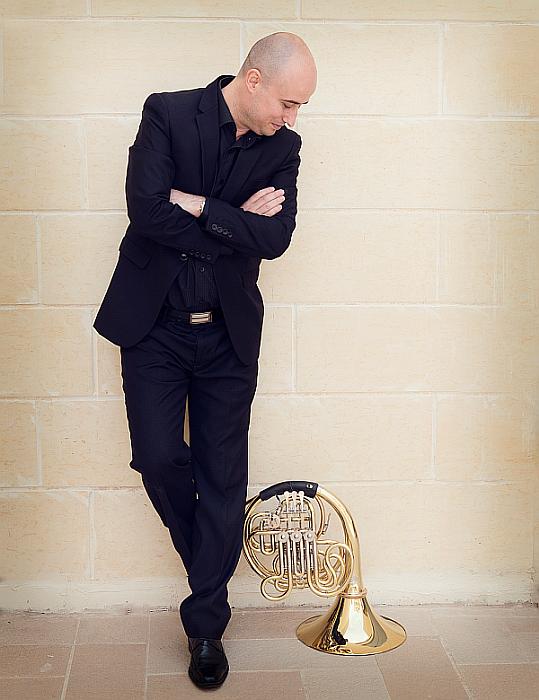 Spanish horn player José García Gutiérrez