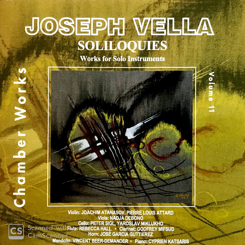 Soliloquies by Joseph Vella was specifically dedicated to Jose